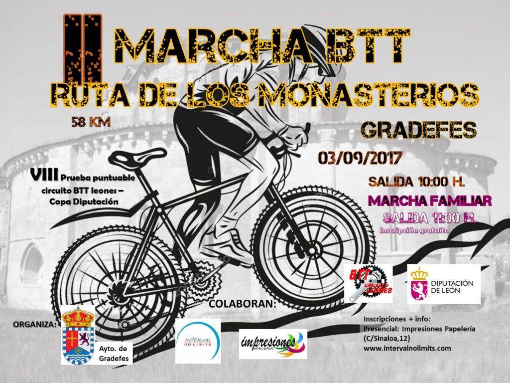 Circuito Btt Leones : Llega la marcha btt ruta de los monasterios gradefes radio marca