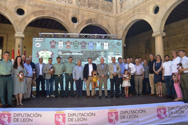 Presentación Vuelta Ciclista a León