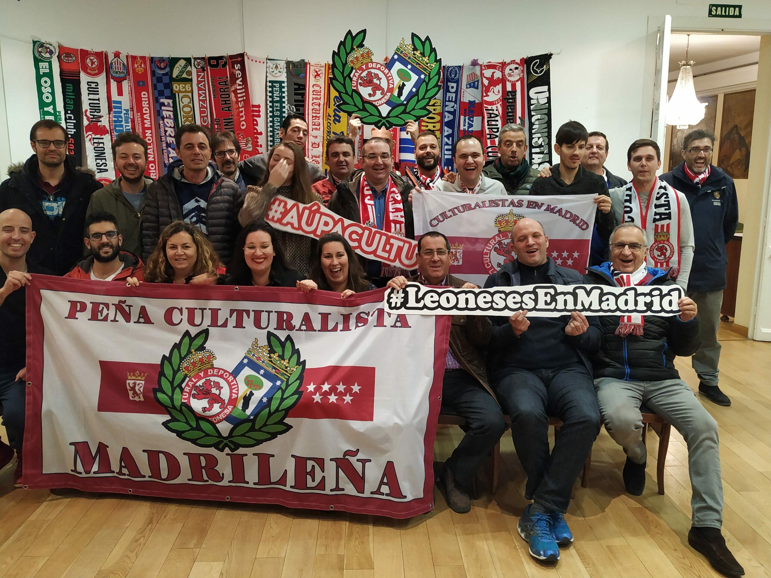 La Peña Culturalista Madrileña celebra su cuarto aniversario - Radio Marca León